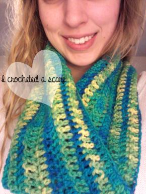 I made ascarf!