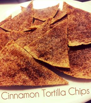 Baked Cinnamon TortillaChips