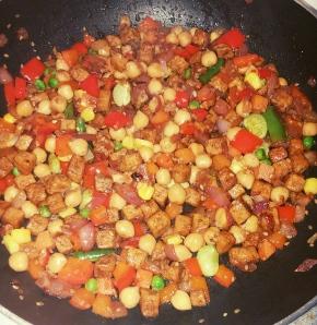 Soyarie Tofu Dish (budget-friendly!)
